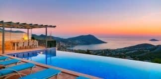 Sıfır temaslı tatil: Kalkan ve Kaş'ta kiralık lüks villalar revaçta!