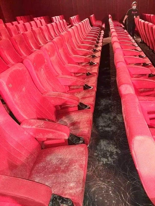sinema salonu küf