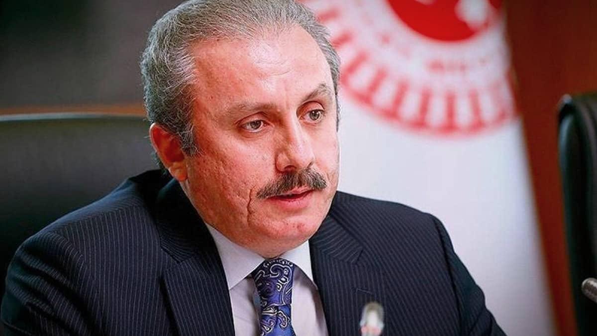 Meclis Başkanı Mustafa Şentop: 120 milletvekili TBMM yi toplantıya çağırabilirdi