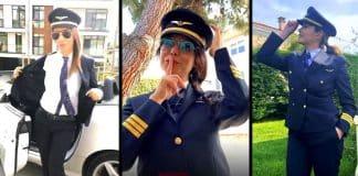 THY kadın pilotları da Don't Rush Challenge akımına uydu