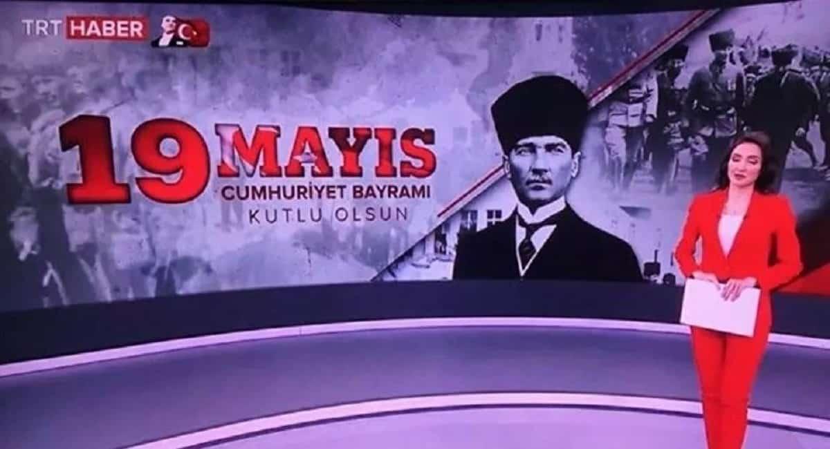 TRT hatası sosyal medyada gündem oldu: 19 Mayıs Cumhuriyet Bayramı video