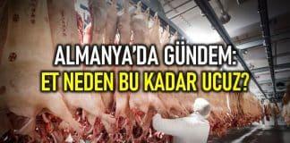 almanya et neden ucuz