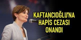 Canan Kaftancıoğlu hapis