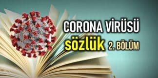 Corona virüsü sözlük: Nedir? Ne anlama gelir? (2. Bölüm)