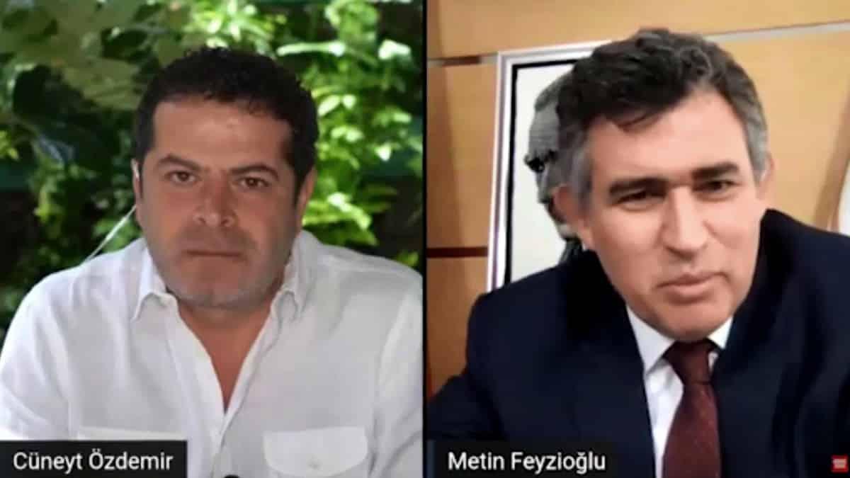 Cüneyt Özdemir Metin Feyzioğlu