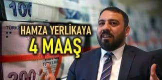Milyonlarca genç işsizken Hamza Yerlikaya 4 maaş alacak!