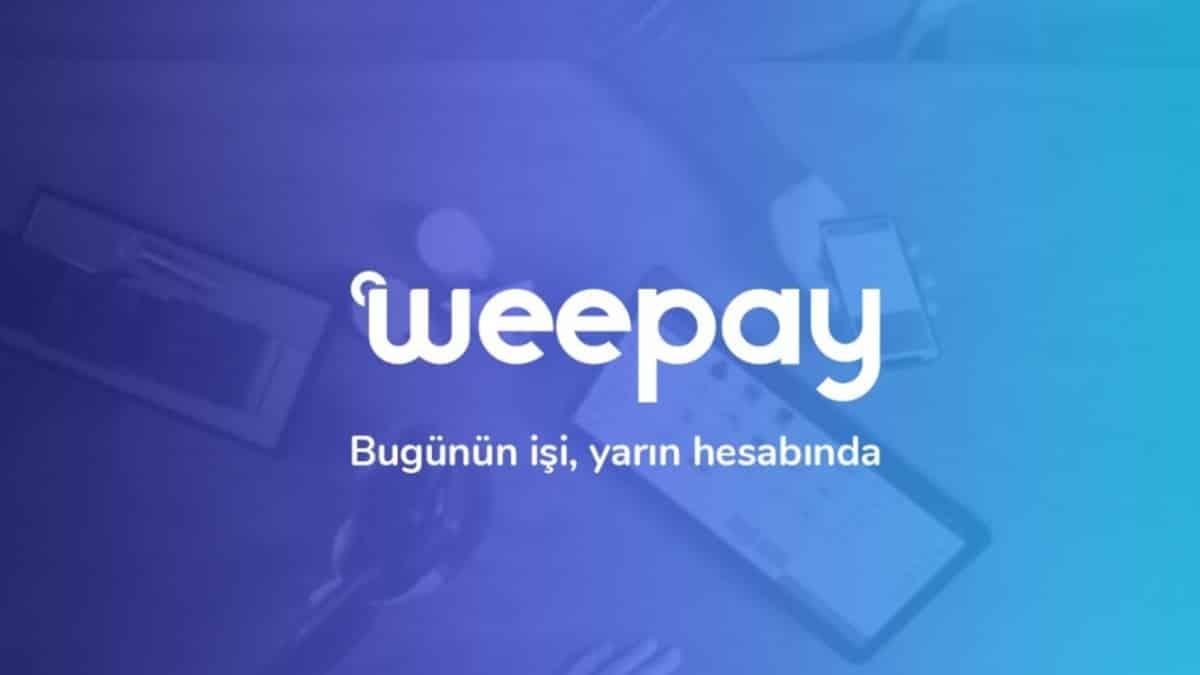 Hızlı para akışı WeePos ile mümkün sanal pos weepay