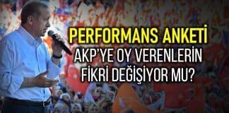 Hükümetin performans anketi: AKP ye oy verenlerin fikri değişiyor mu? SAROS araştırma