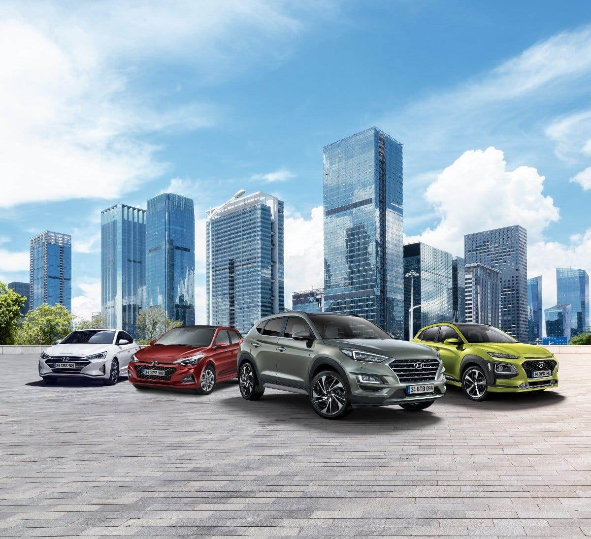 Hyundai Assan Yeni i10 C-SUV tucson Elantra KONA