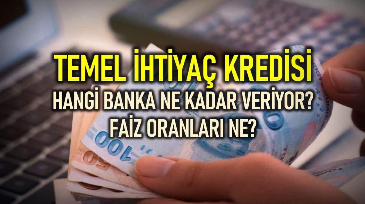 Hangi banka ne kadar ihtiyaç kredisi veriyor? Başvuru nasıl yapılır?