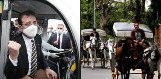 İstanbul Adalar Kaymakamlığı elektrikli araçlara ret kararı ekrem imamoğlu