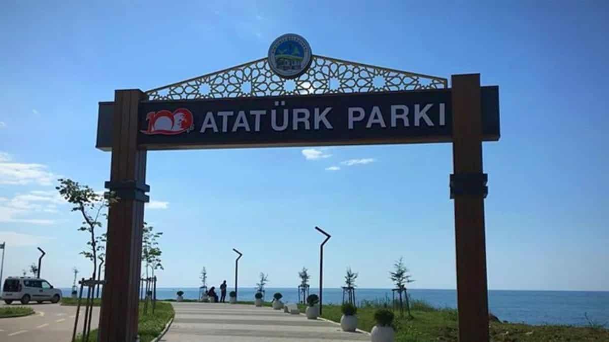millet bahçesi atatürk parkı