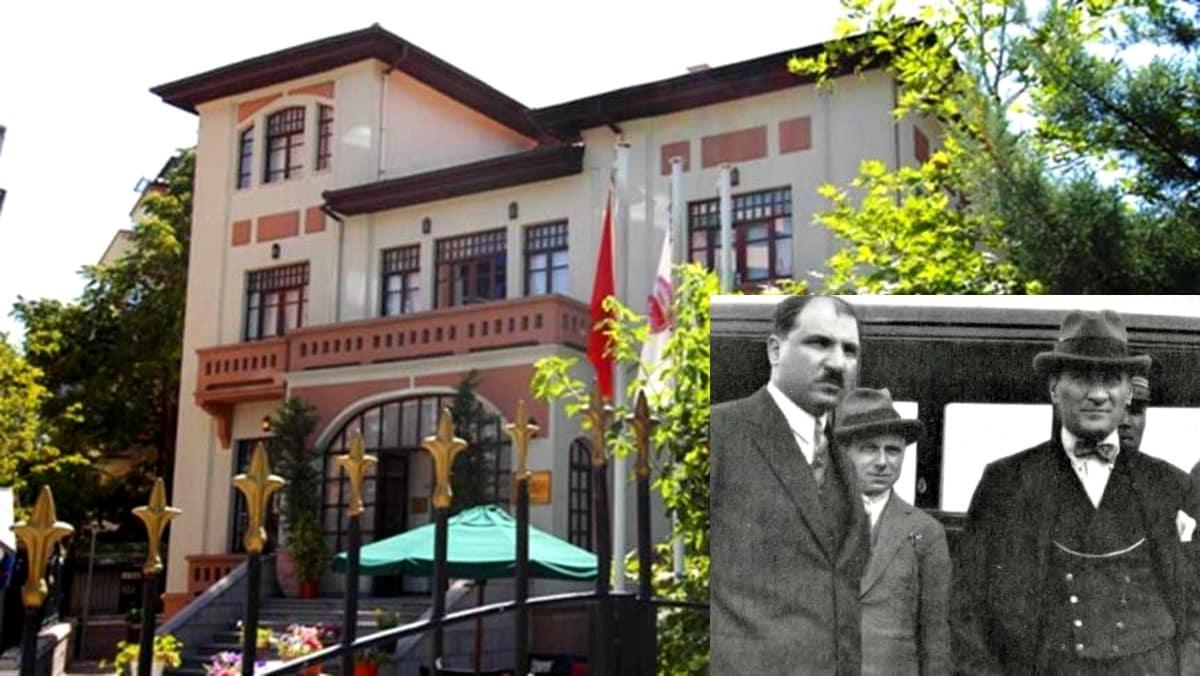 Mustafa Necati nin adını taşıyan binaya şeriatçı yazarın adı verildi!