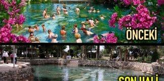 Pamukkale Kleopatra Antik Havuzu bu hale getirdiler!