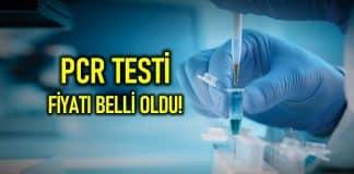PCR testi fiyatı nedir