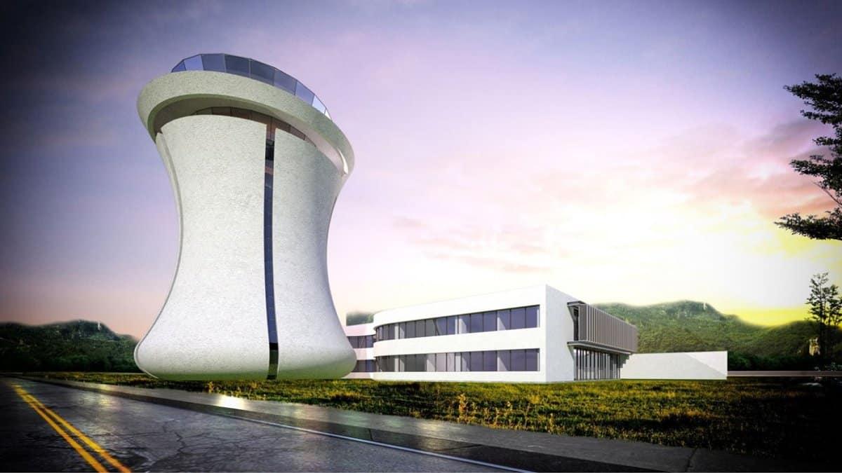Rize-Artvin Havalimanı kulesi çay bardağı şeklinde olacak