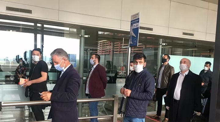 sabiha gökçen havalimanı açıldı