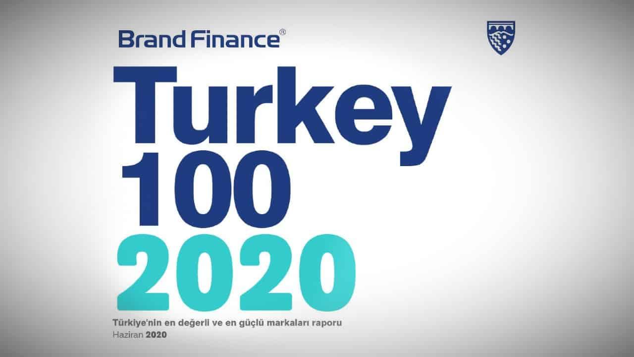 Türkiye nin en değerli markaları (Brand Finance Turkey 100)