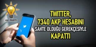 Twitter AKP gençlik örgütlenmesiyle bağlantılı 7340 hesabı kapattı sahte hesap ak trol