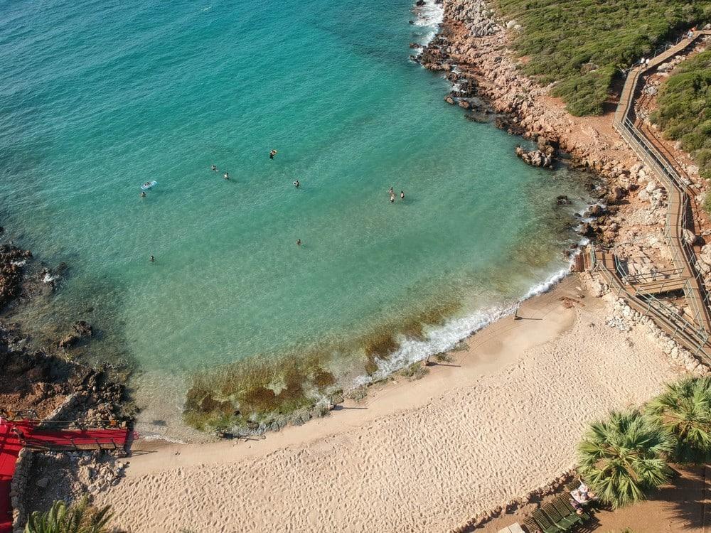 Kleopatra Plajı, Sedir Adası