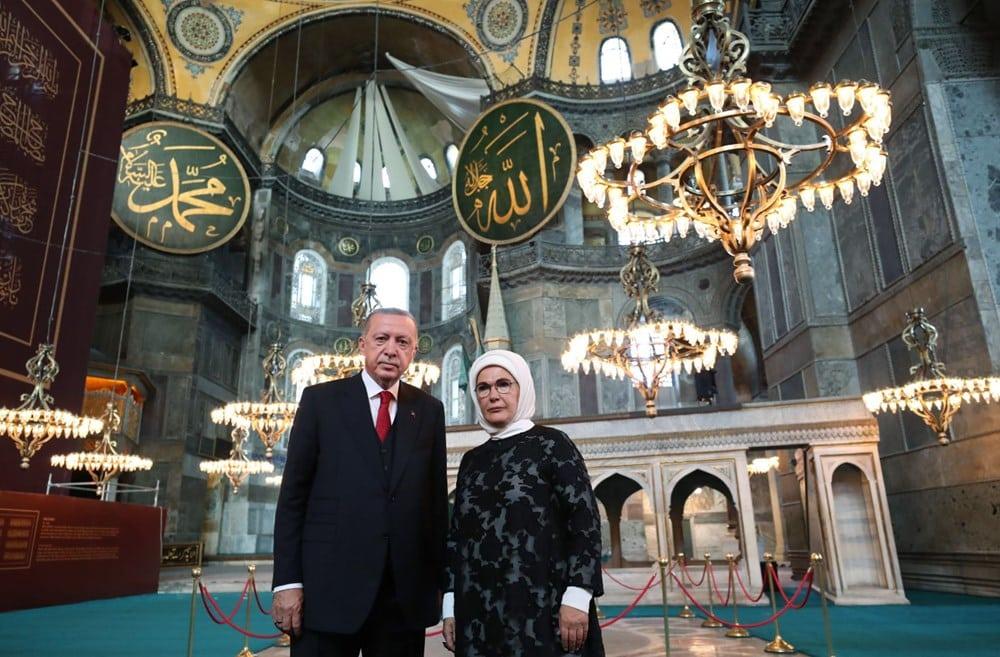 ayasofya erdoğan