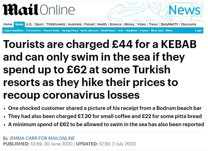 dailymail doner turkey