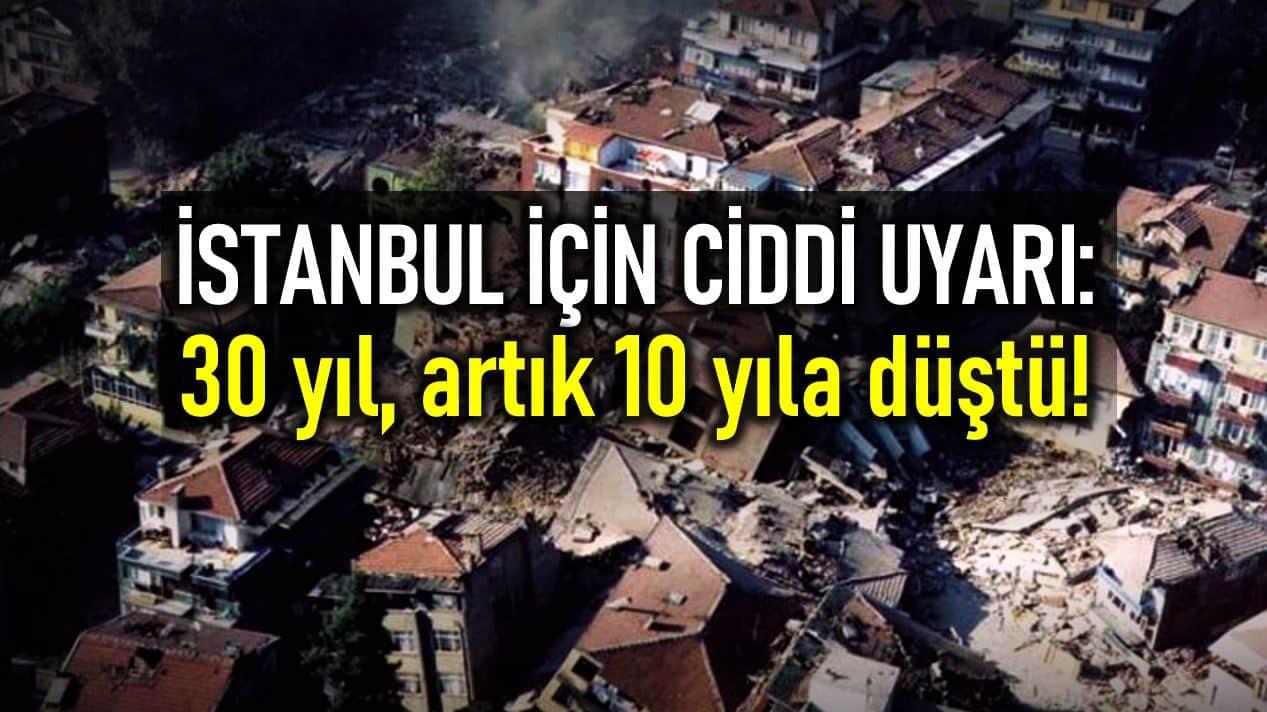 İstanbul deprem