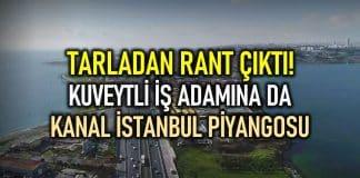 kanal istanbul kuveyt