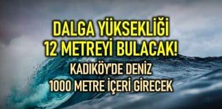 Tsunami eylem planı İstanbul