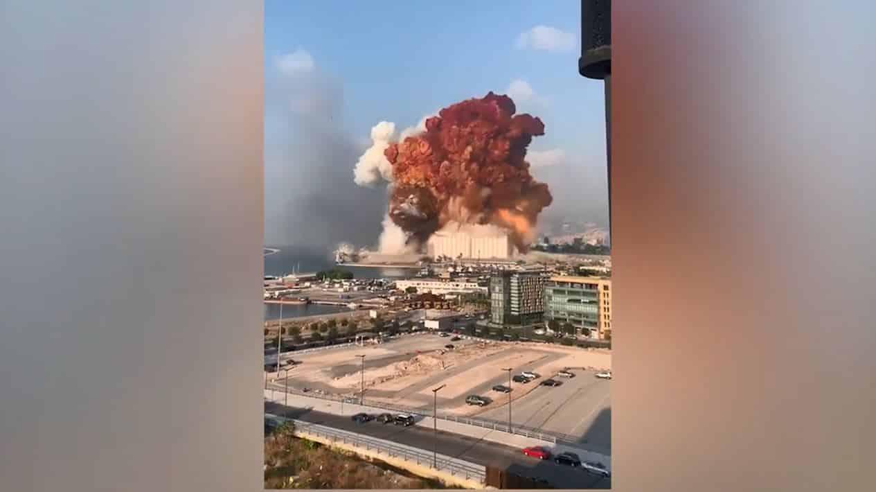 lübnan beyrut patlaması 2020