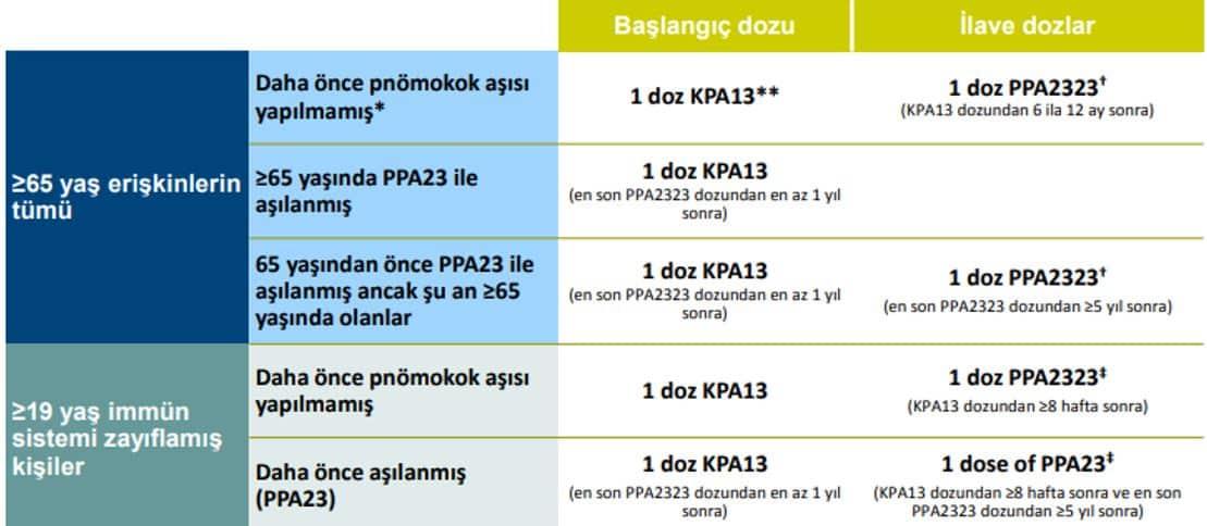 pnömokok aşısı