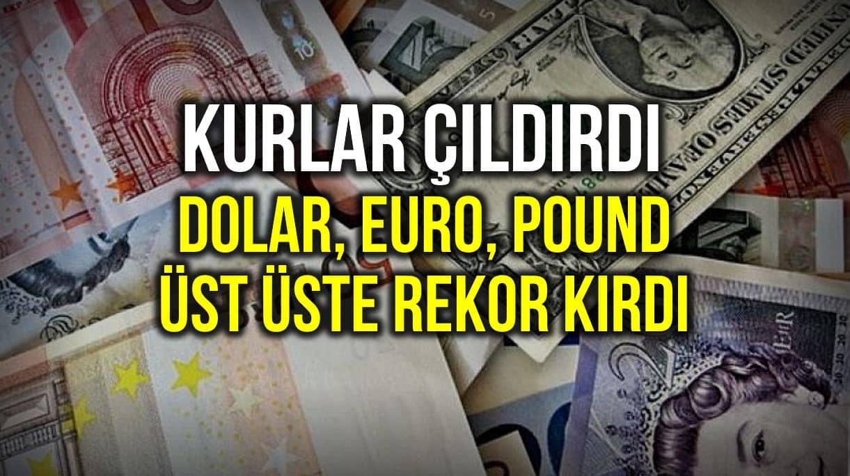 tl dolar euro pound