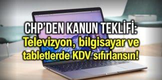tv tablet bilgisayar kdv