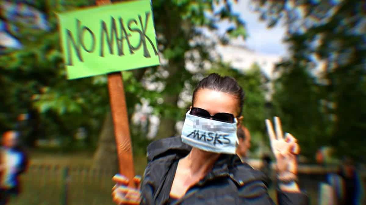 maske karşıtlığı
