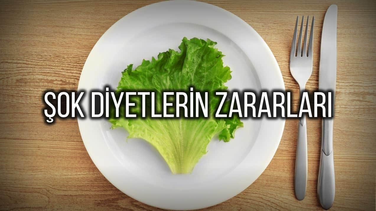 Şok diyetlerin zararları