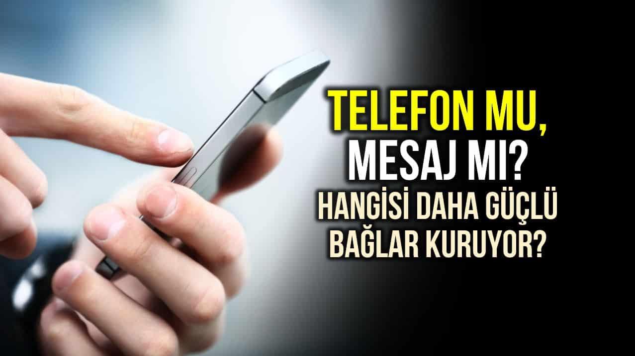 telefonla aramak yazışmak