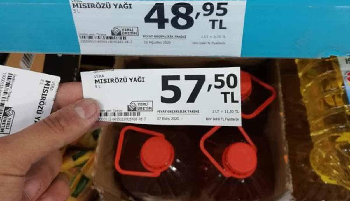 yağ fiyatı