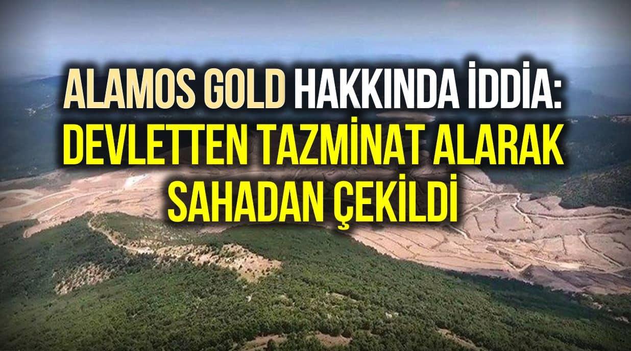 Alamos Gold, devletten tazminat