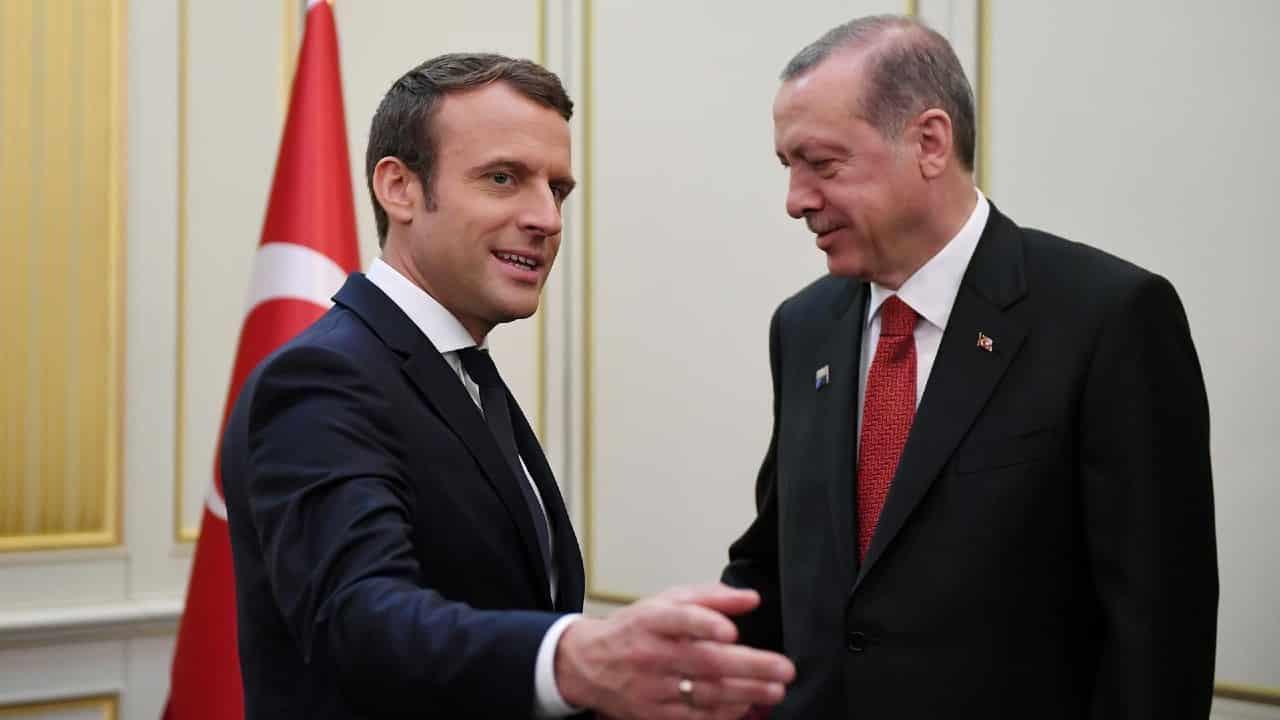 erdoğan macron zihinsel tedavi