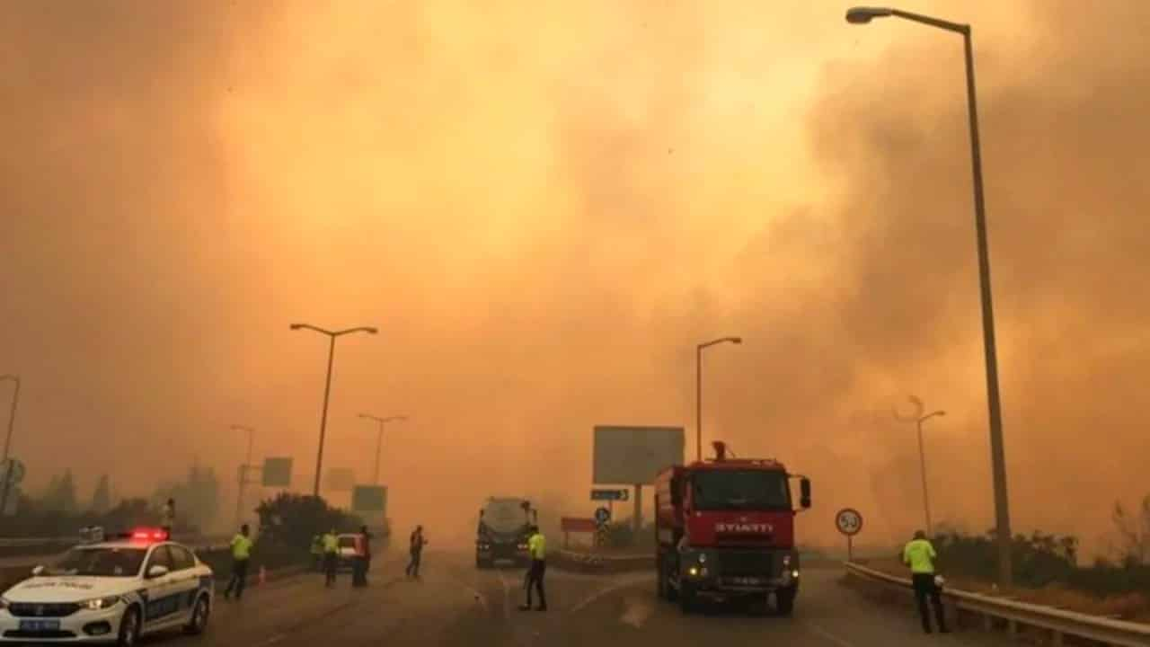 hatay yangınların araştırılması önergesi