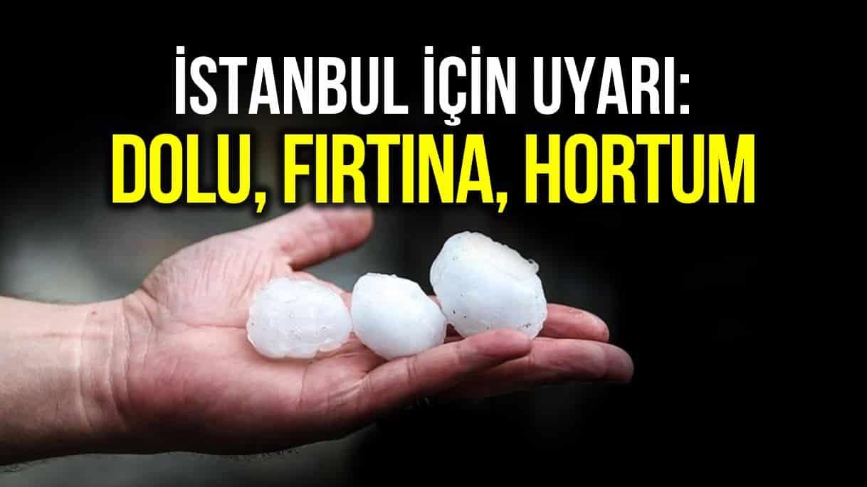 İstanbul dolu