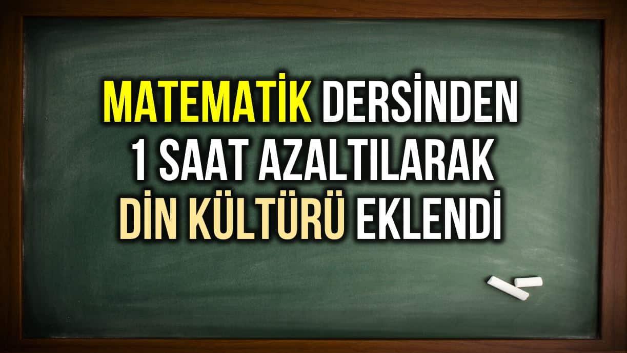 matematik din kültürü