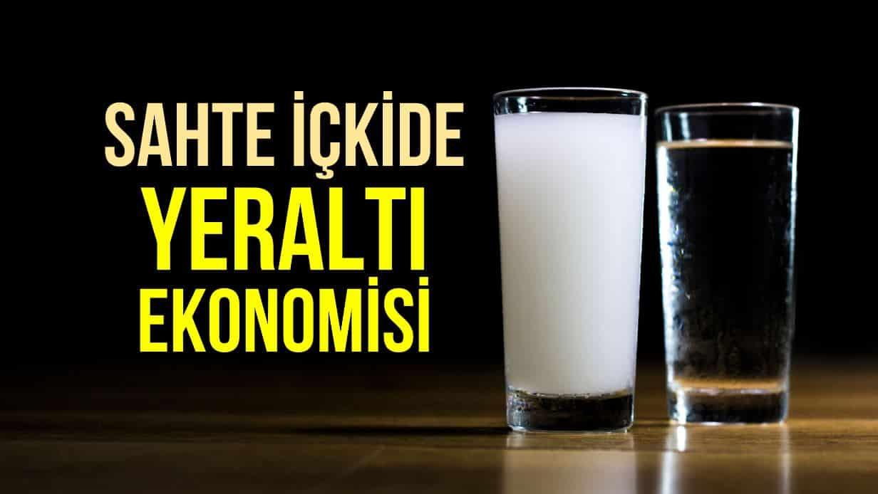 sahte içki alkol
