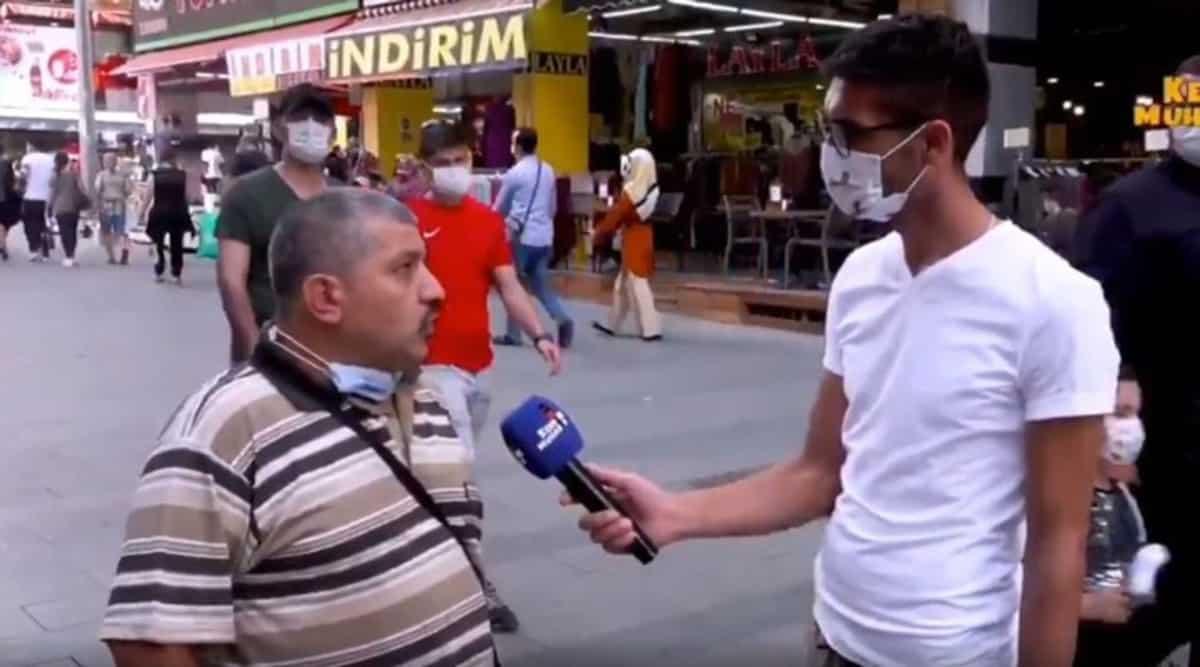 ismail demirbaş Sokak röportajında iktidarı eleştirdi