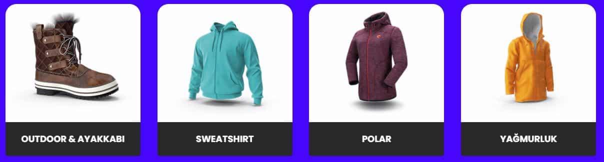 polar ceket indirimli ürünler