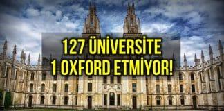 üniversitenin bütçesi oxford