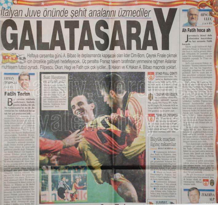 Galatasaray - Juventus 1998