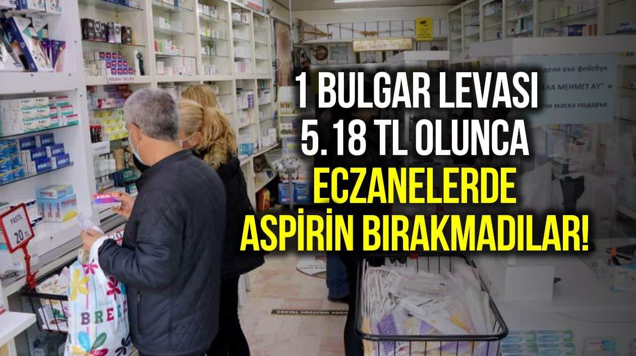 eczanelerde aspirin kalmadı