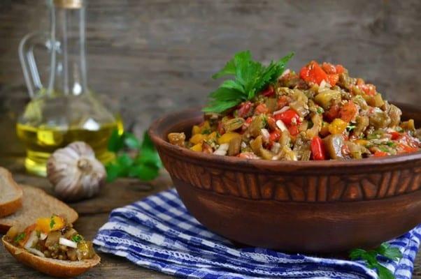 Babagannuş türk yemekleri