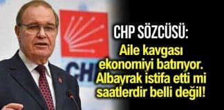 chp sözcüsü berat albayrak istifa